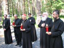 Завершился визит в Украину Президента Епископской Конференции Италии